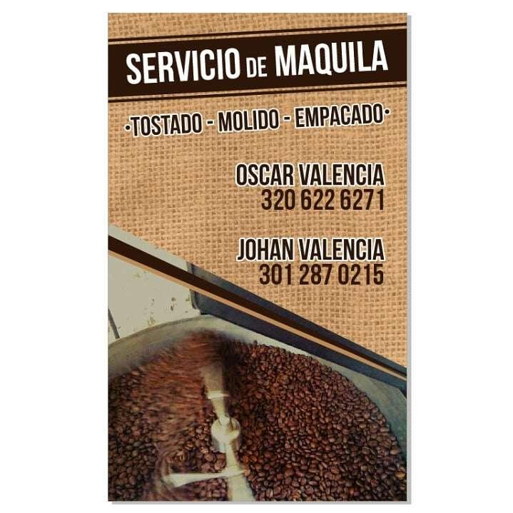 Imagen producto Maquila o tostado de cafe 4