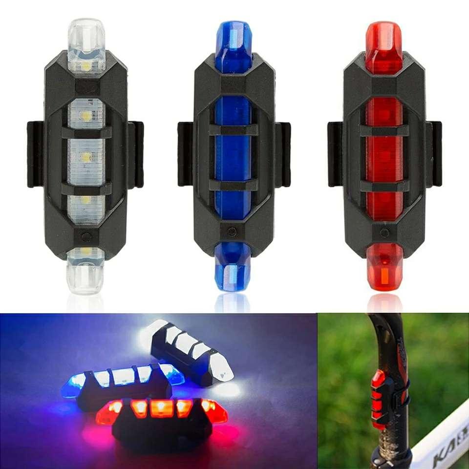 Imagen luz LED USB ciclismo