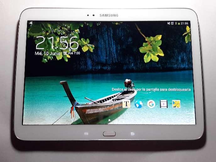 Imagen Samsung Galaxy tap 3, 10.1 pulgadas y (viene con funda de regalo)