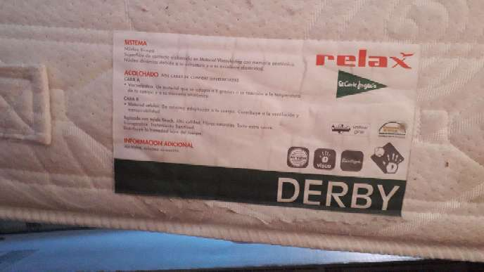 Imagen Colchón grueso NEGOCIABLE viscoelástico 135x180