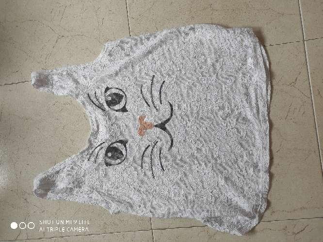 Imagen camiseta transparente talla 44