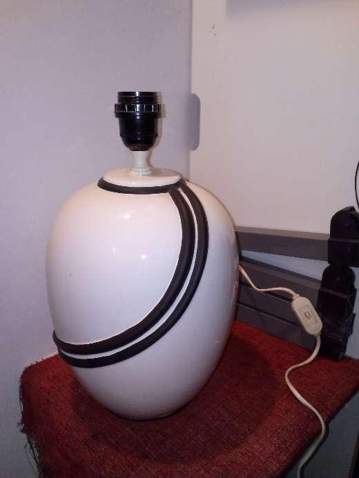 Imagen lampara porcelana
