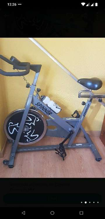 Imagen Bicicleta estatica de spining