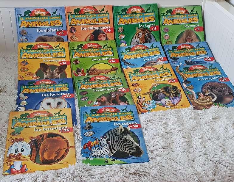 Imagen Libros DISNEY de animales lote de 14