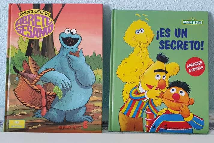Imagen 2 libros barrio sesamo de aprender a leer
