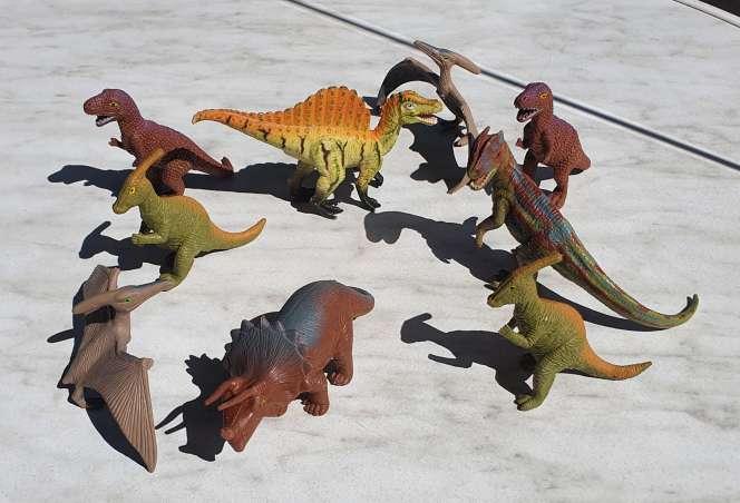 Imagen Dinosaurios coleccion de 9