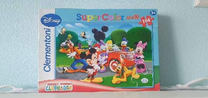 Imagen Puzzle de 104 piezas grandes  Mikey mousse