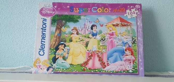 Imagen Puzzle de 104 piezas grandes Disney princesas