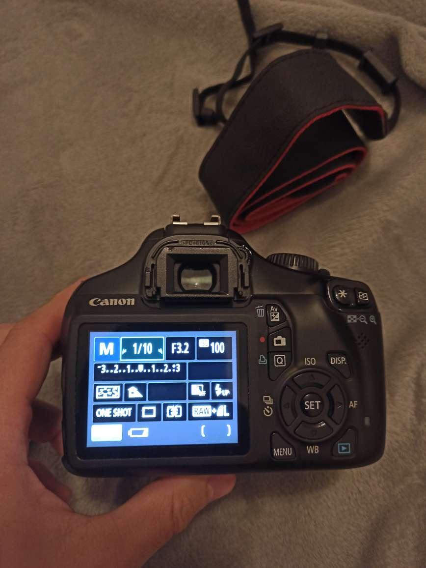 Imagen producto Camara fotografixa Canon + objetivo  3
