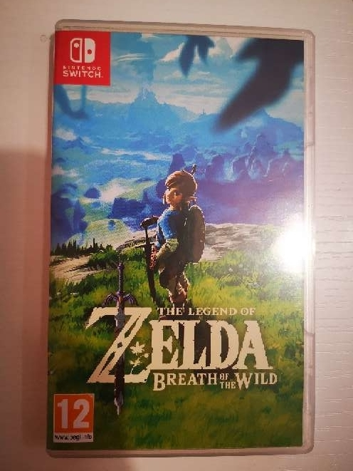 Imagen Vendo Juego Zelda Nintendo switch