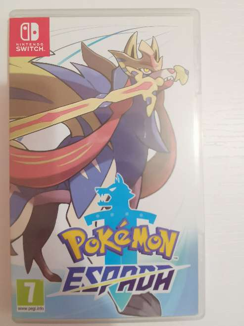 Imagen producto Vendo Juego Nintendo switch Pokémon espada  1