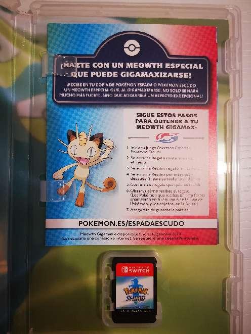 Imagen producto Vendo Juego Nintendo switch Pokémon espada  2