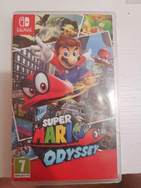 Imagen Vendo Juego Nintendo switch súper Mario odyssey