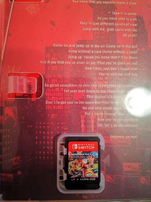 Imagen producto Vendo Juego Nintendo switch súper Mario odyssey 2