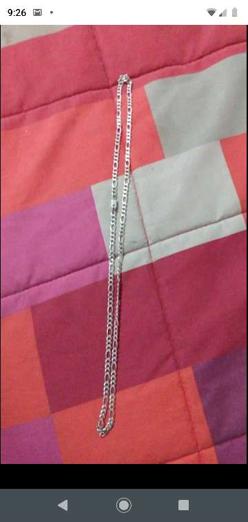 Imagen cadena de plata