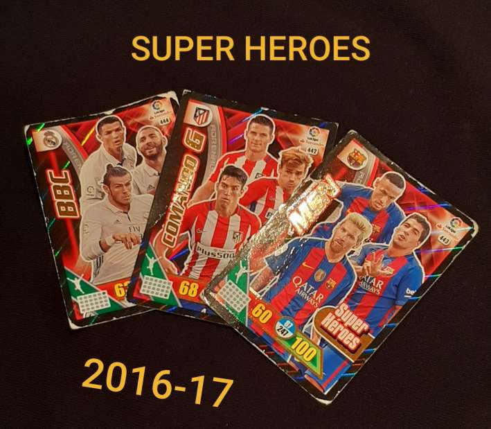 Imagen Cartas Super heroes