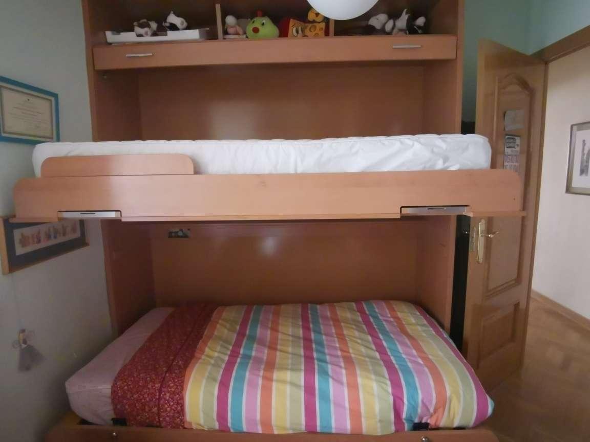 Imagen Litera con 2 camas abatibles + COLCHONES