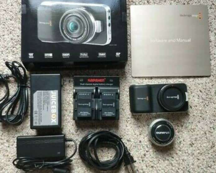 Imagen blackmagic design digital pocket camera