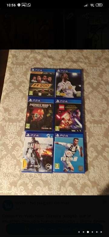 Imagen PS4 PRO 1 mando 6 juegos