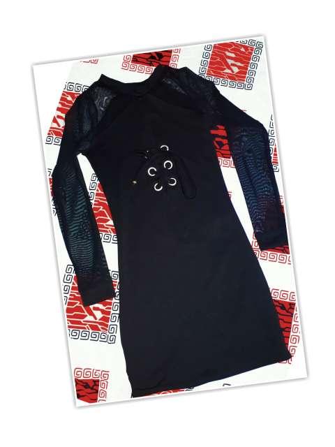 Imagen hermosl vestido negro!!!