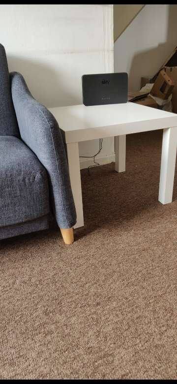 Imagen Sofabed and side table