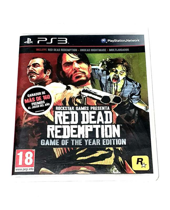 Imagen Red Dead Redemption Para PlayStation 3, PS3