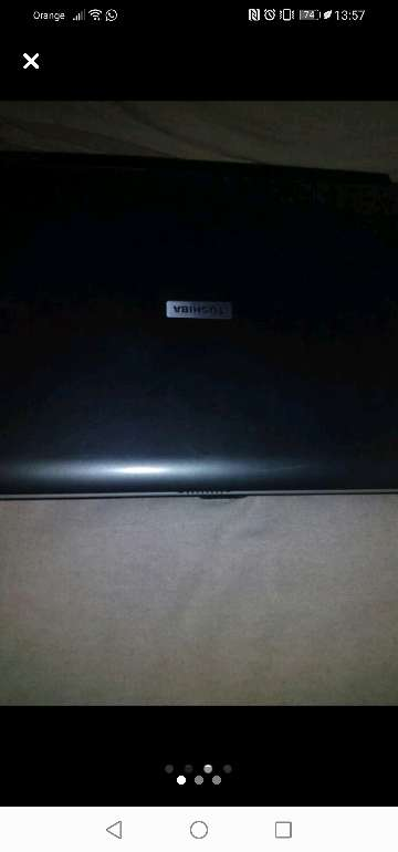 Imagen producto Portátil Toshiba  3