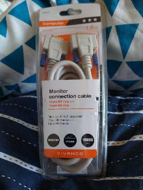 Imagen producto Cable SVGA marca vivanco 1