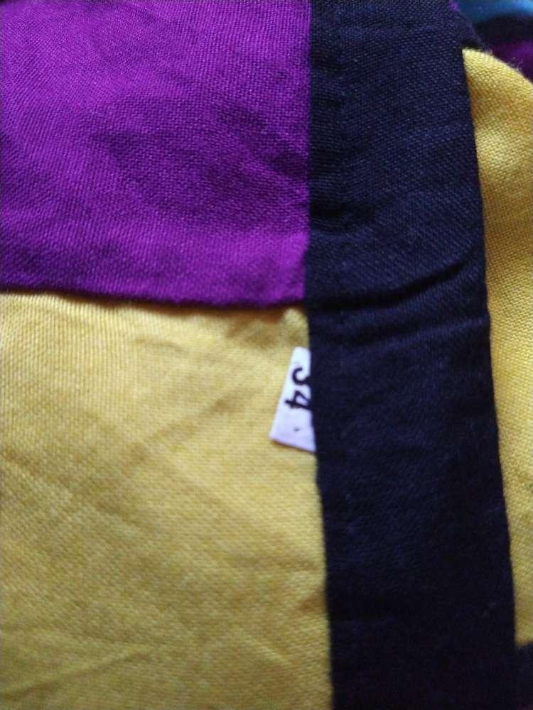 Imagen producto Falda larga de colorines con conchas 2