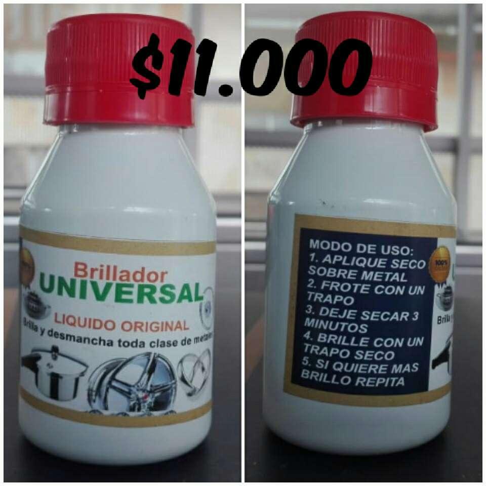 Imagen brillador universal líquido original.