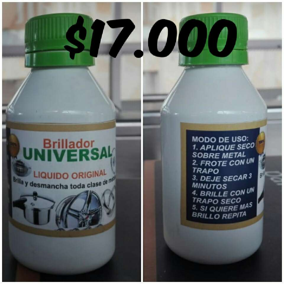 Imagen producto Brillador universal líquido original. 2