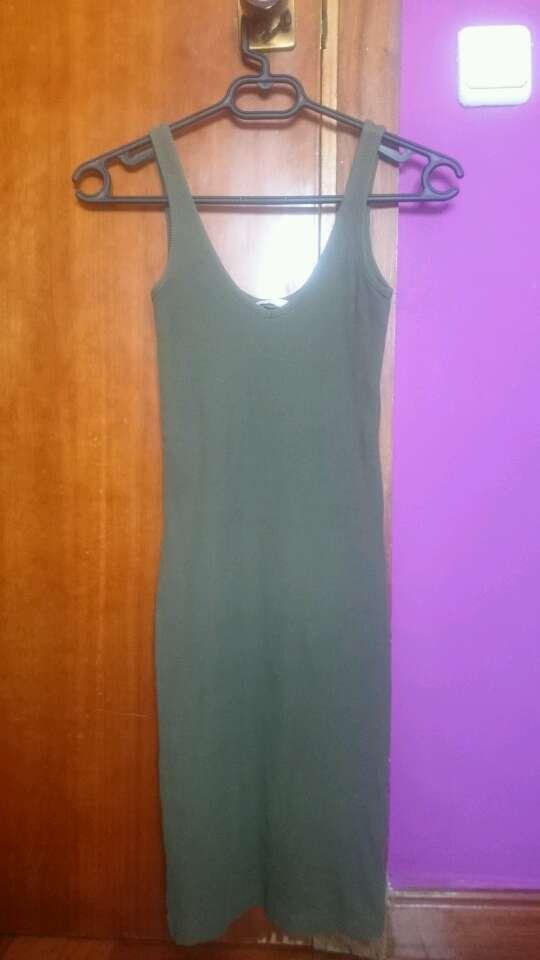 Imagen producto Vestido veraniego verde militar 2
