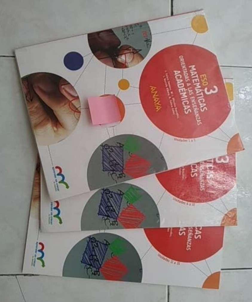 Imagen producto Libros 3 ESO 2