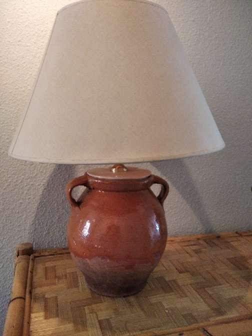 Imagen Lampara preciosa de ceramica