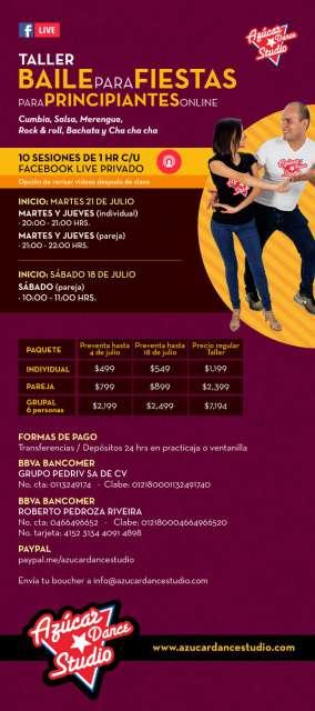 Imagen Talleres de Baile On Line y Curso de Verano On Line