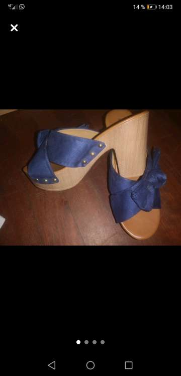 Imagen producto Zapatos azul 4