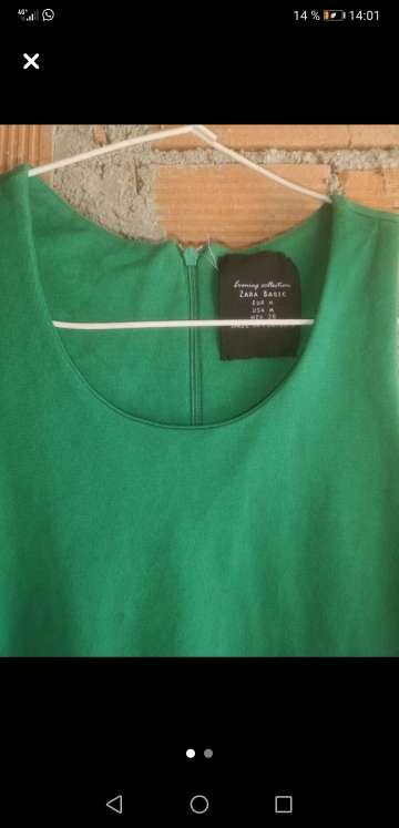 Imagen producto Vestido verde zara 2