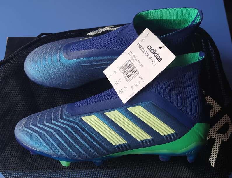 Imagen Botas de fútbol Adidas Predator 18+ fg junior n°36