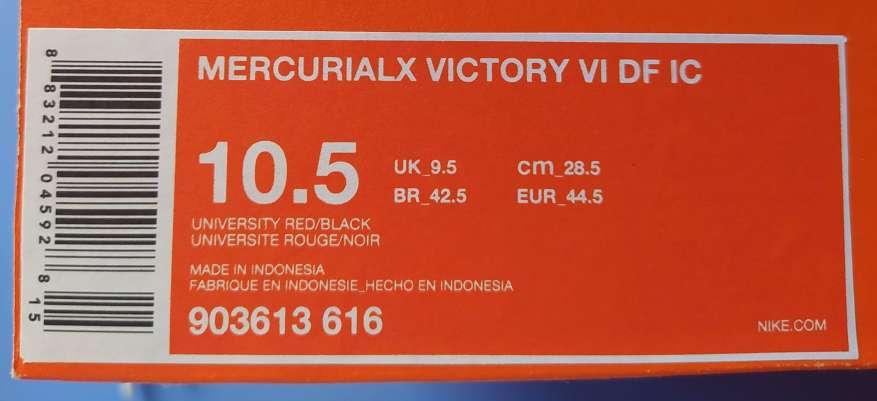 Imagen producto Zapatillas Nike MercurialX Victory VI Dynamic Fit Ic n°44,5 2