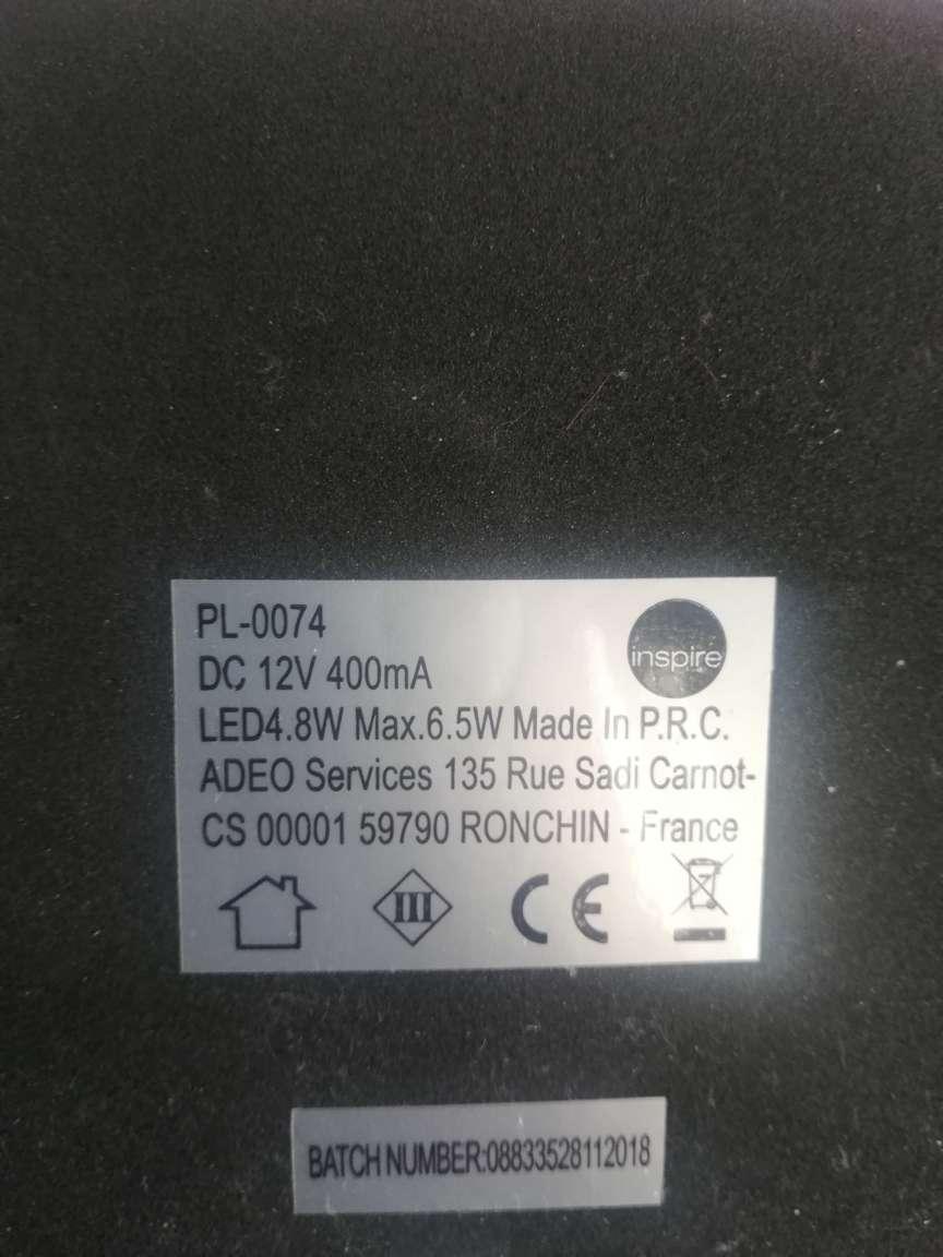 Imagen producto Lámpara de mesa con Led flexible  3
