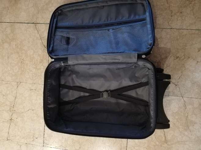 Imagen producto Maleta 50x35x20cm azul  3