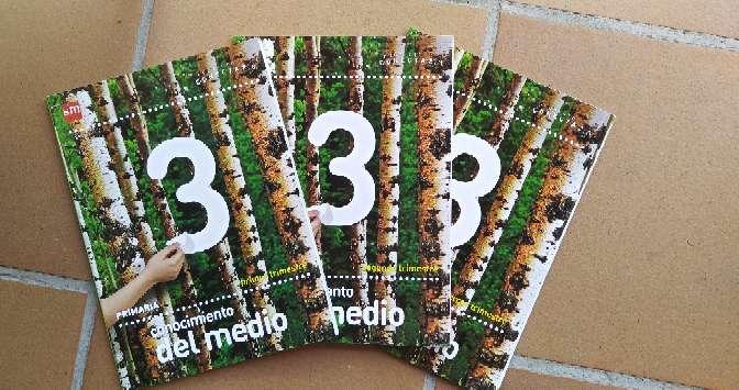 Imagen producto Libros 3° Primaria  7
