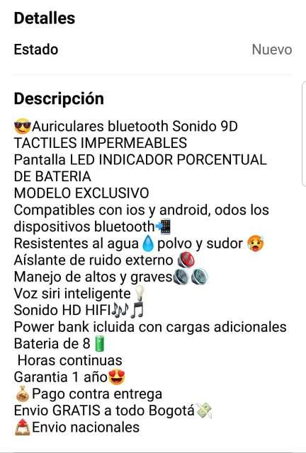 Imagen auriculares inalambricos m11