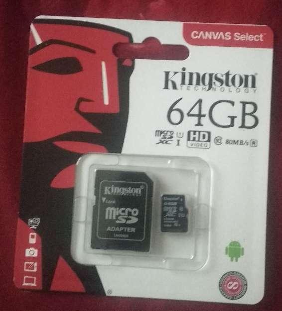 Imagen micro SD 64gb