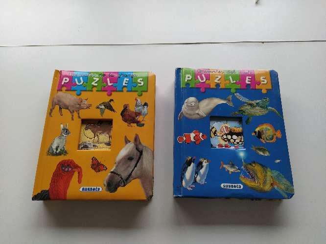 Imagen Lote de 2 libros cuentos, puzzle
