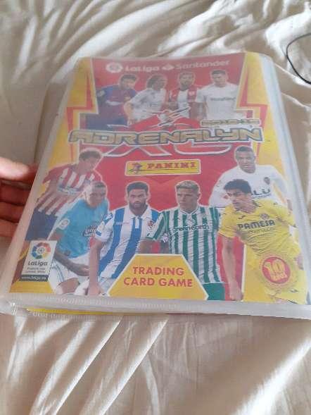 Imagen Album entero + 208 cartas de futbol