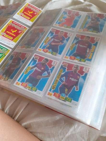 Imagen producto Album entero + 208 cartas de futbol 4