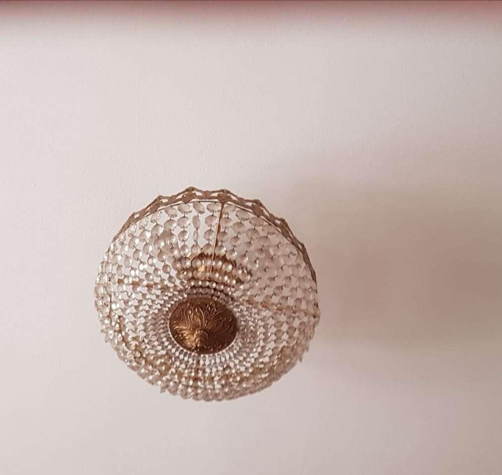 Imagen Lámpara de techo con cristales