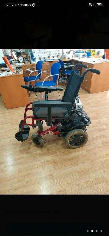 Imagen producto Silla de ruedas motorizada.  2