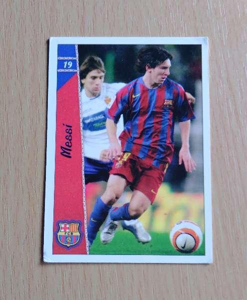 Imagen Messi card fútbol